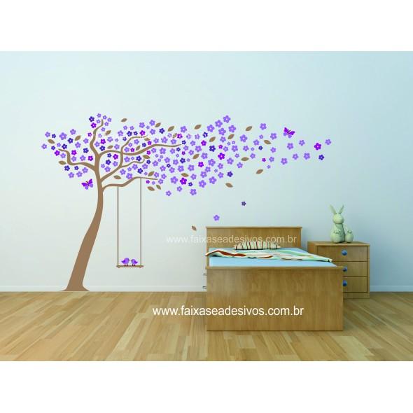 012 - Arvore do Carinho adesivo decorativo 1,80 x 2,50m  - Fac Signs