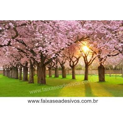 Decoração Cerejeiras ao Por do Sol (P-M-G-EG)  - Fac Signs