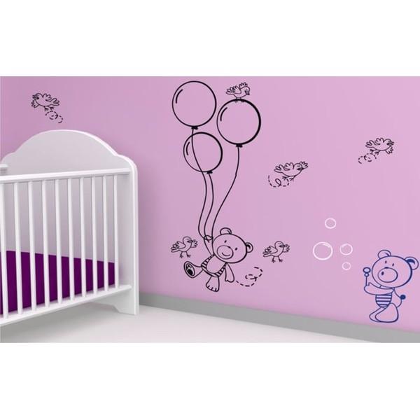 Infantil Adesivo Baby Baloo 1,00x0,50m  - FAC Signs Impressão Digital