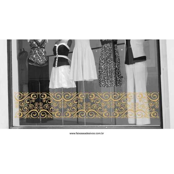 Adesivo faixa Gold 45x250cm  - Fac Signs