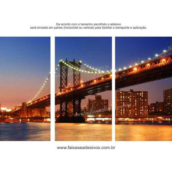 Ponte - Fotos em alta definição impressa em adesivo- vários tamanhos  - Fac Signs