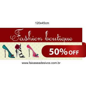 Fashion Boutique adesivo  - Fac Signs