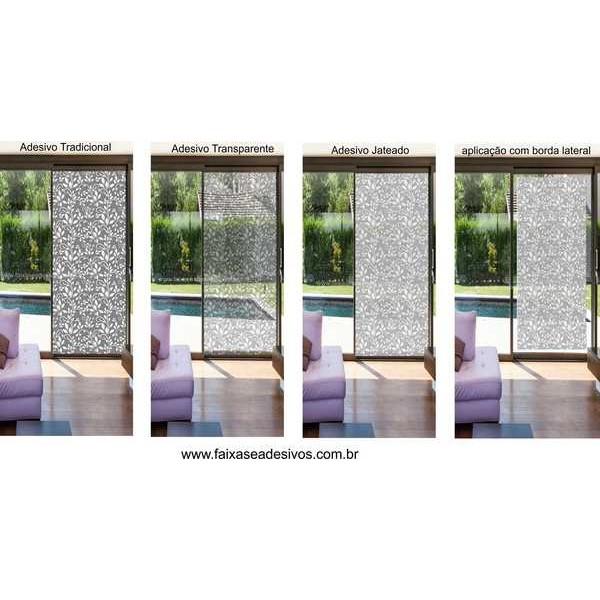 Artesanato Simples Com Eva ~ 003 Adesivo Decorativo para Vidro Arabesco Mode