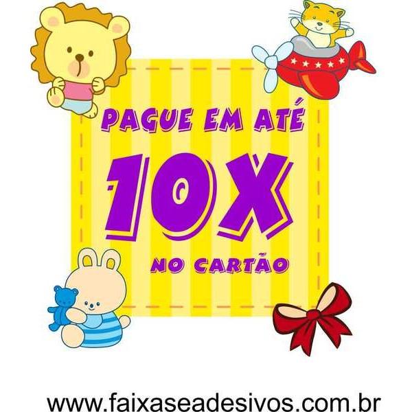 Adesivo Cubo Kids   - FAC Signs Impressão Digital