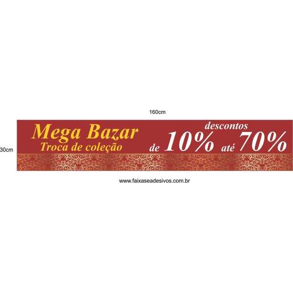 Mega Bazar Grande 160x30cm  - Fac Signs