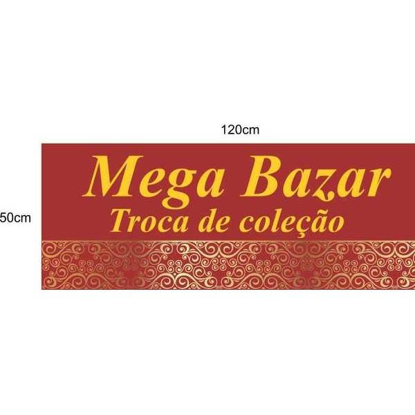 Mega Bazar pequeno 120x50cm  - Fac Signs