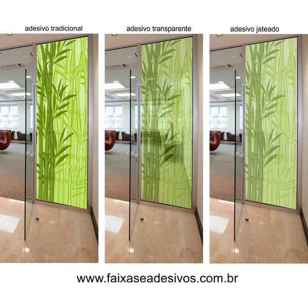 002 adesivo decorativo para vidro 220x95cm bambu fac for Adhesivos de pared infantiles
