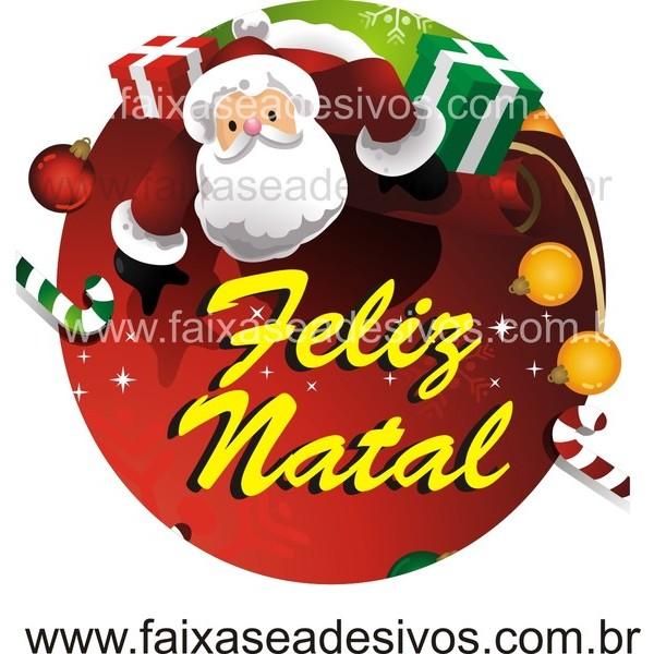 Adesivo Natal Noel 60 x 60cm  - Fac Signs