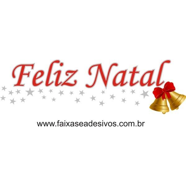 Adesivo Feliz Natal Sino Dourado (P-M-G)  - Fac Signs