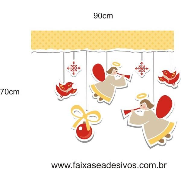 Adesivo Anjinhos Delicados 90 x 70cm  - Fac Signs