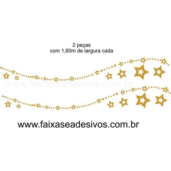 Adesivo Cordão de Natal 2 peças  - FAC Signs Impressão Digital