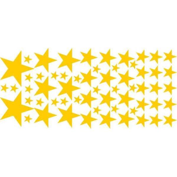 Adesivo Decorativo Estrelas Cartela (M-G)  - Fac Signs