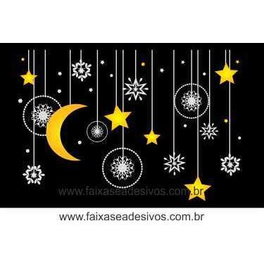 Adesivo Penduricalhos Noite de Natal (M-G)  - Fac Signs