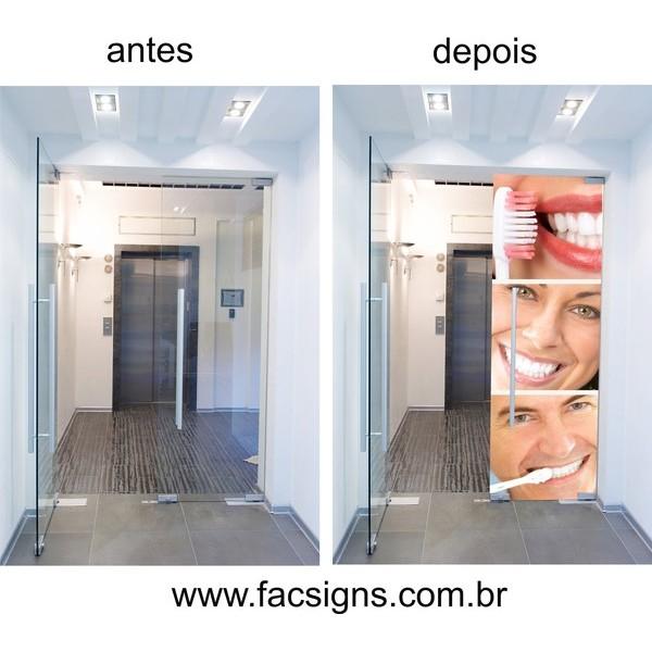 Adesivo com imagem Sorriso 18  - FAC Signs Impressão Digital