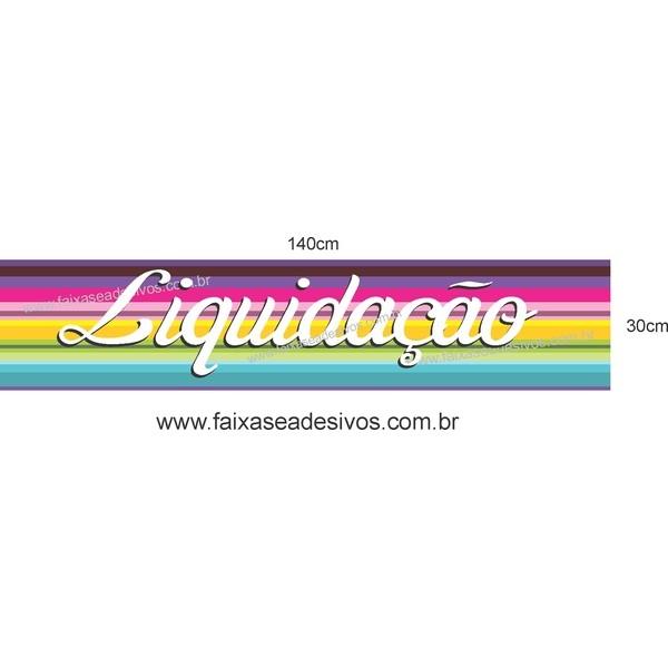 Adesivo Liquidação 14A - Vários Tamanhos  - Fac Signs