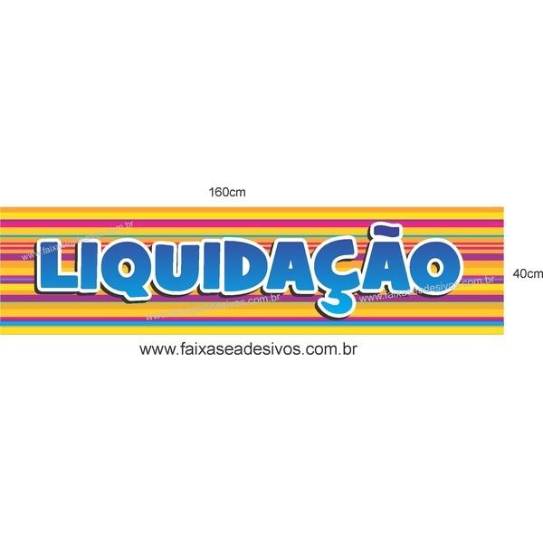 Adesivo Liquidação 14B - Vários tamanhos  - Fac Signs