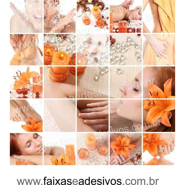 Adesivo Beleza e Glamour 1,00 x 1,00m 14U  - Fac Signs