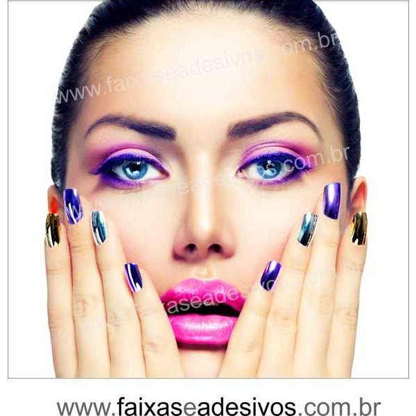 Adesivo Decorativo Cores e Brilho da Mulher 70 x 70m 14W  - Fac Signs
