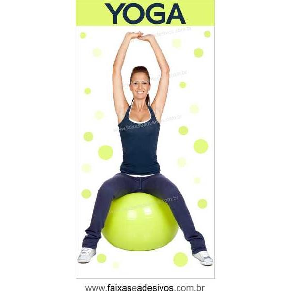 Adesivo Yoga 2,00 x 1,00m 114G  - Fac Signs