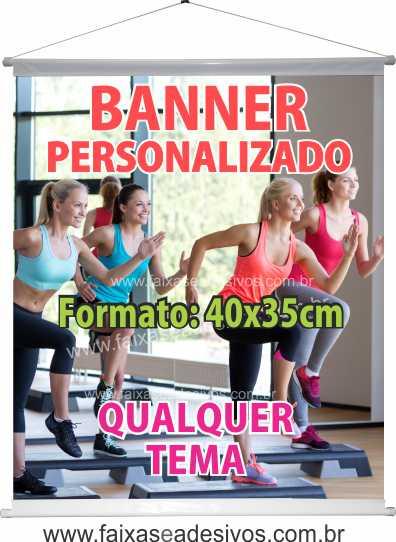 002B - Banner 40x35cm   - Fac Signs