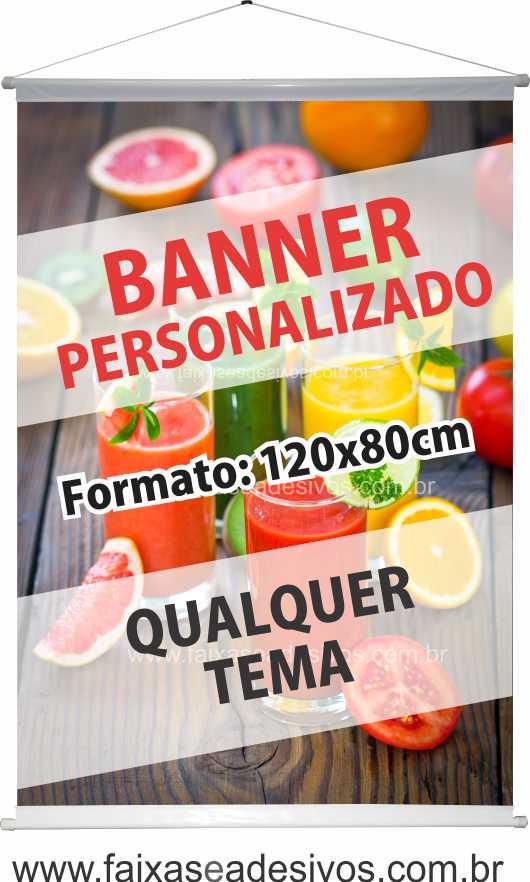009B - Banner 120x80cm   - Fac Signs