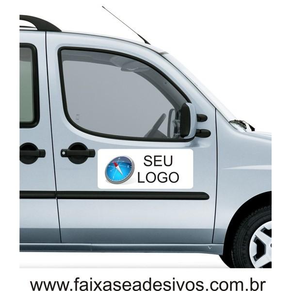 Adesivo para Porta de Carro Impresso 60X25cm - sem instalação (o par)  - Fac Signs