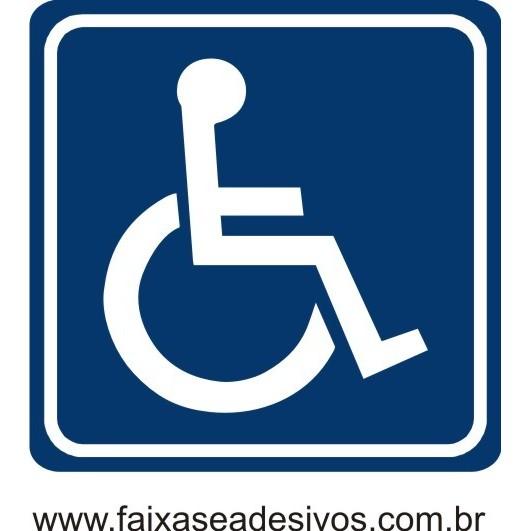 Adesivo Deficiente Físico para carro  - FAC Signs Impressão Digital