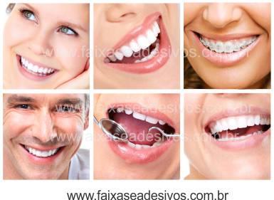 Fotos Decorativas Mosaico Sorriso 005 - Adesivo  - Fac Signs