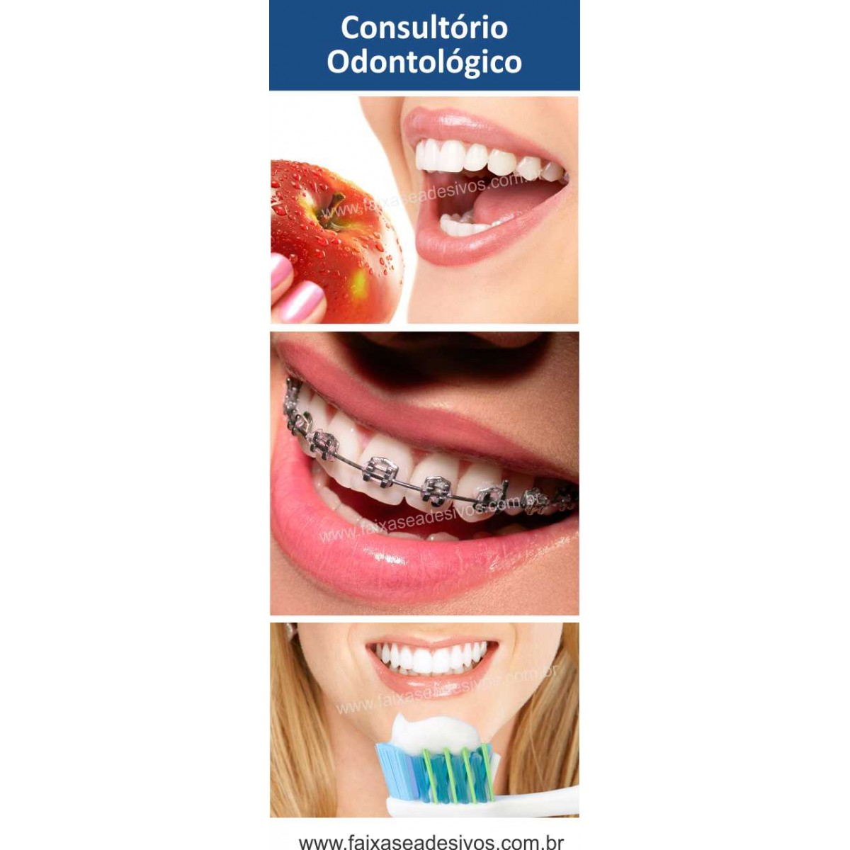 Fotos Decorativas Porta Sorriso P01 - Escolha o tipo de Adesivo  - Fac Signs
