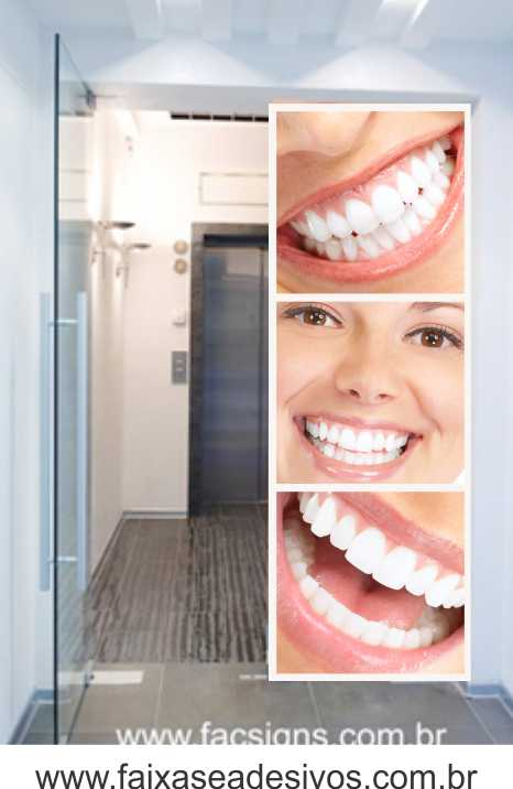 Fotos Decorativas Porta Sorriso P02 - Escolha o tipo de Adesivo  - Fac Signs