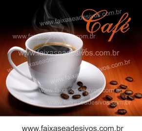 Fotos Decorativas Café 003 - Escolha Adesivo ou placa 50x60cm  - Fac Signs