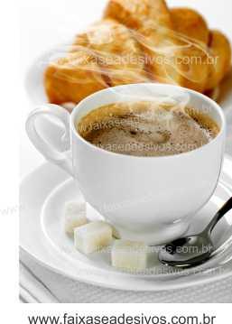 Fotos Decorativas Café 006 - Escolha Adesivo ou placa 100x70cm  - Fac Signs