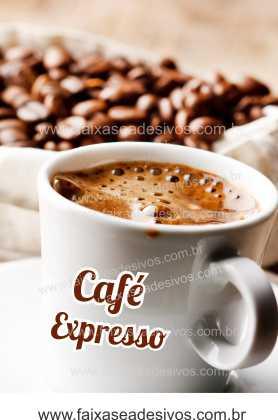 Fotos Decorativas Café 007 - Adesivo - Escolha o tamanho  - Fac Signs