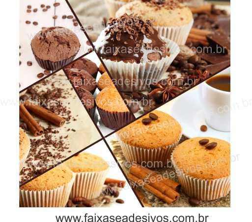 Fotos Decorativas Cake 001 - Escolha tamanho entre Adesivo ou placa  - FAC Signs Impressão Digital