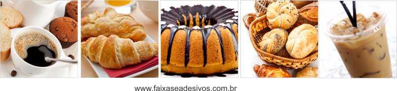 Fotos Decorativas Café 009 - Adesivo 40cm cada foto kit com 5 fotos  - Fac Signs