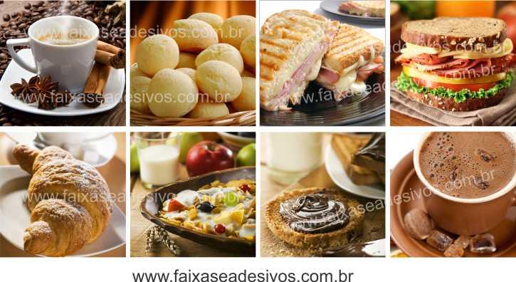 Fotos Decorativas Café 010 - Mosaico adesivo 60x120cm  - Fac Signs