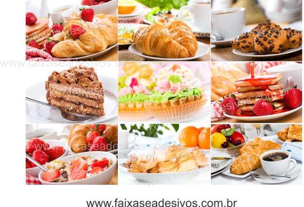 Fotos Decorativas Café 011 Mosaico - Escolha o tamanho  - Fac Signs