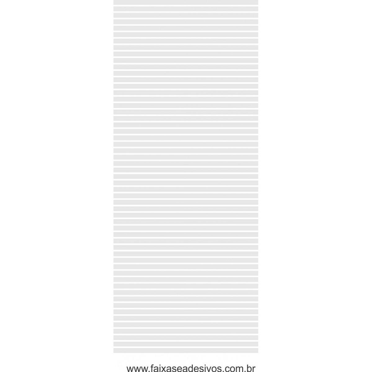 113 - Adesivo Persiana 3cm cada tira e vão de 1cm - 220x70cm - Escolha a cor  - FAC Signs Impressão Digital