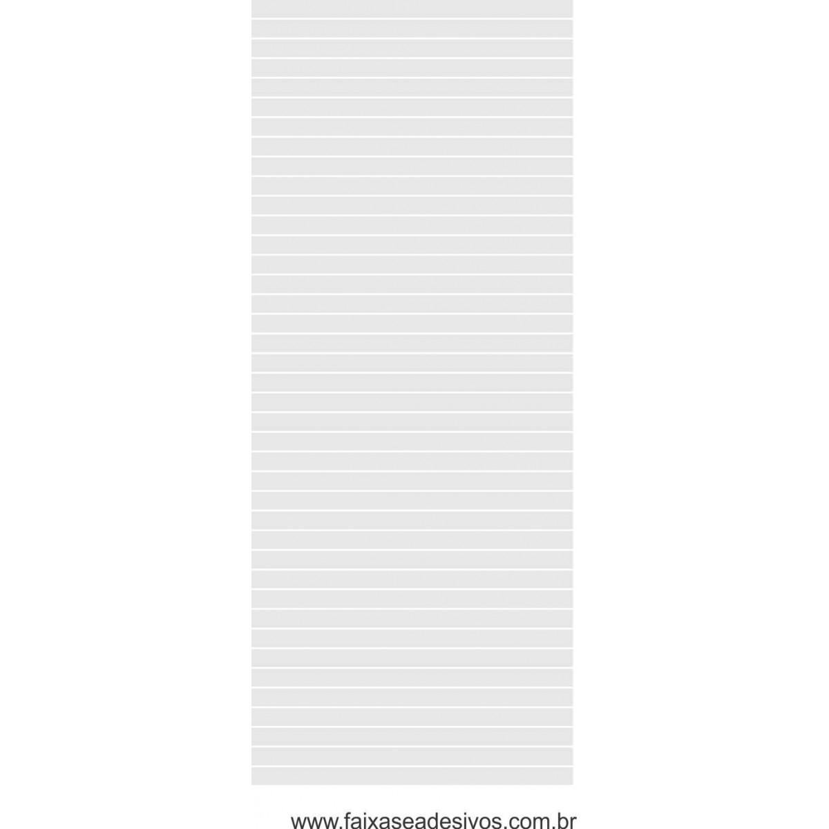 114 - Adesivo Persiana 5cm cada tira e vão de 0,5m - 220x70cm - Escolha a cor  - Fac Signs