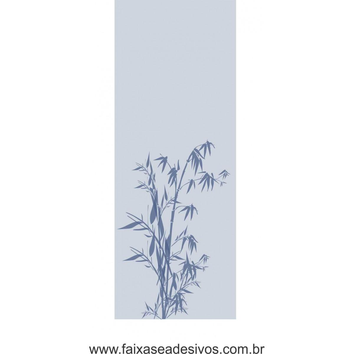 083 VD - Adesivo Jateado para vidro Bamboo 210x70cm  - Fac Signs