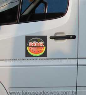 802 - Imã Flexivel para Carro 20x20cm - Envie arte pronta ou solicite a sua!  - FAC Signs Impressão Digital