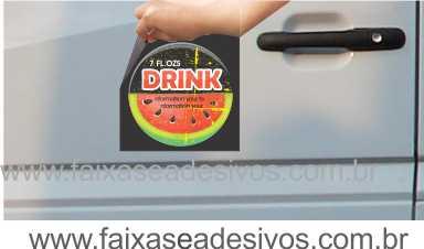 802 - Imã Flexivel para Carro 20x20cm - Envie arte pronta ou solicite a sua!  - Fac Signs