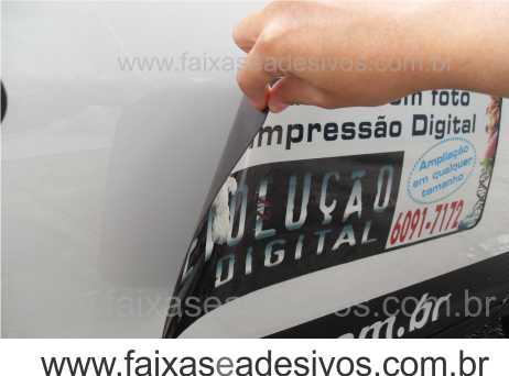807 - Imã Flexivel para Carro 60x20cm - Envie arte pronta ou solicite a sua!  - FAC Signs Impressão Digital