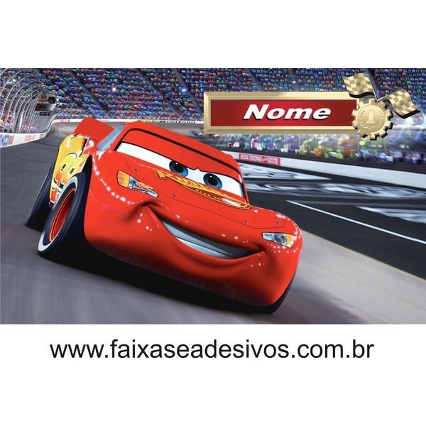 Painel Aniversário Carros - 145x85cm  - FAC Signs Impressão Digital
