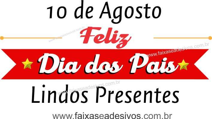 Adesivo Dia dos Pais P202- Escolha as opções  - Fac Signs