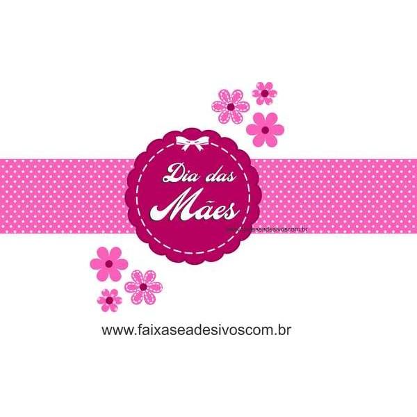 AB203 - Adesivo Dia das Mães Delicadeza!!  - FAC Signs Impressão Digital