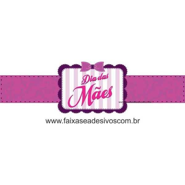 AB205 - Adesivo Dia das Mães Laço  - Fac Signs