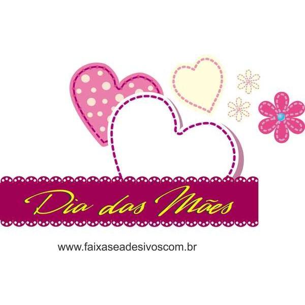 AB206 - Adesivo Dia das Mães Amor!!  - FAC Signs Impressão Digital