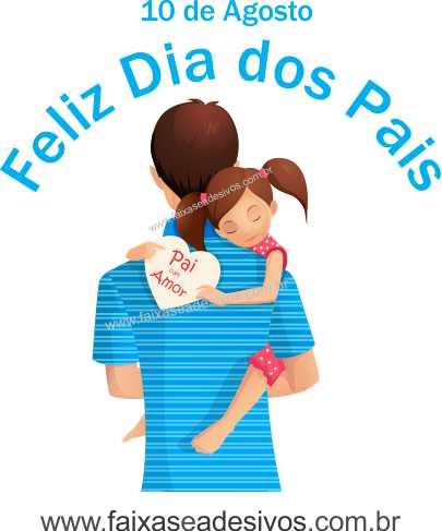 Adesivo Dia dos Pais P217 - Escolha as opções  - Fac Signs