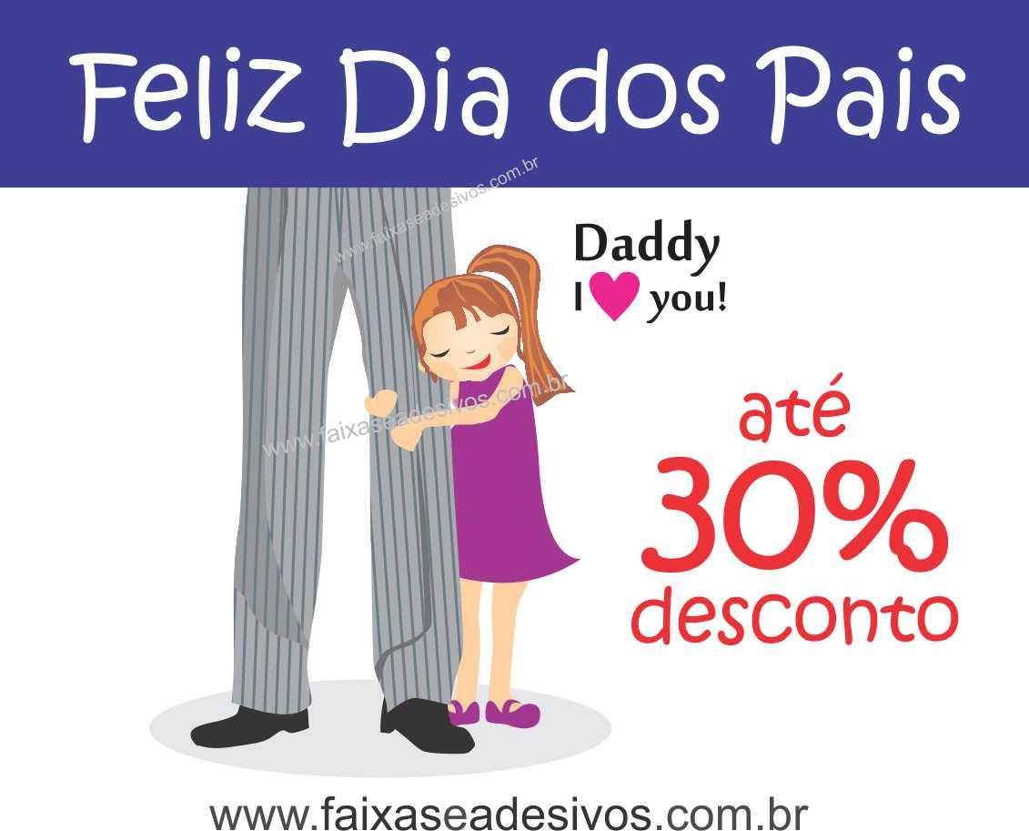 Adesivo Dia dos Pais P218 - Escolha as opções  - Fac Signs